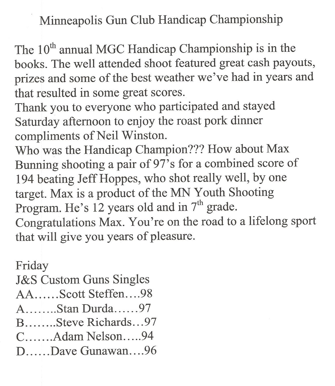 MGC HC 1